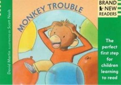 Monkey Trouble als Buch (gebunden)