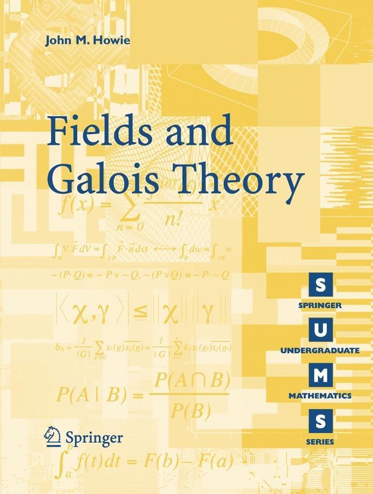 Fields and Galois Theory als Buch (kartoniert)