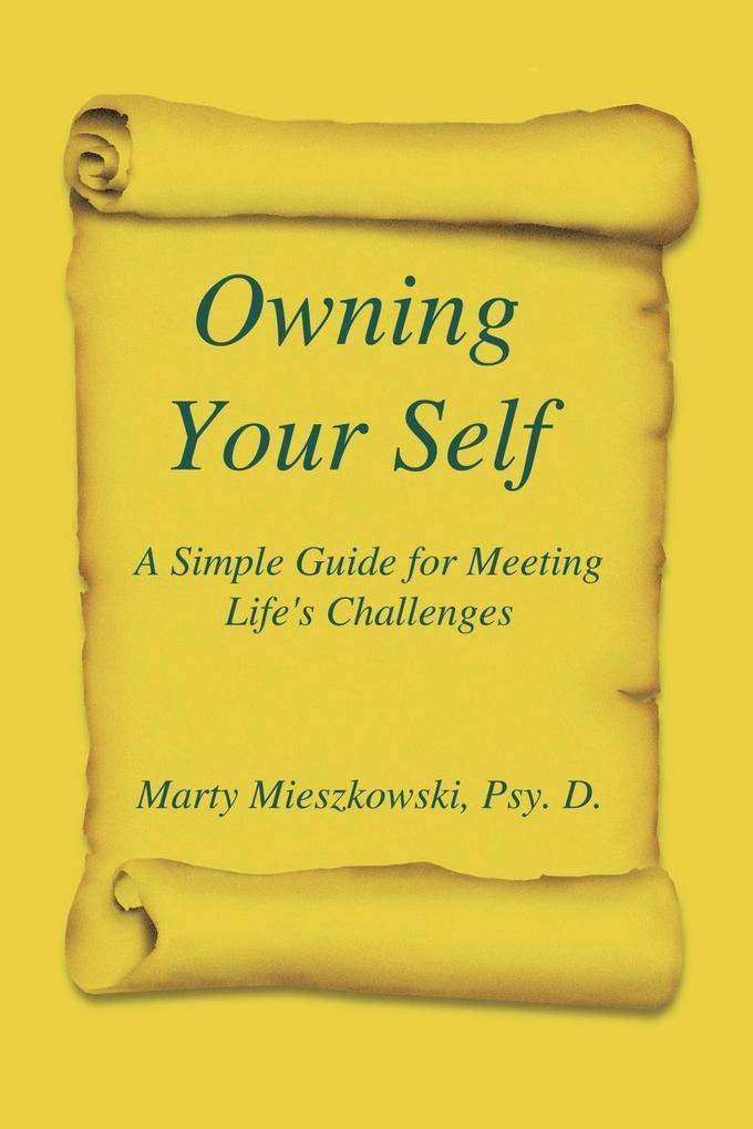 Owning Your Self als Taschenbuch