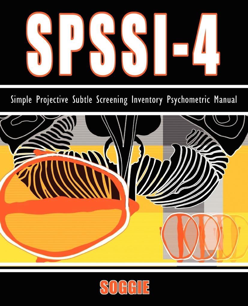 Spssi-4 als Taschenbuch