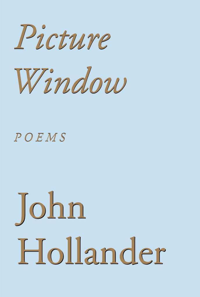 Picture Window: Poems als Taschenbuch