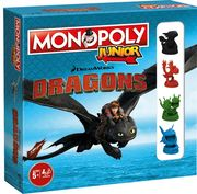 Winning Moves - Monopoly - Junior Dragons Collectors Edition