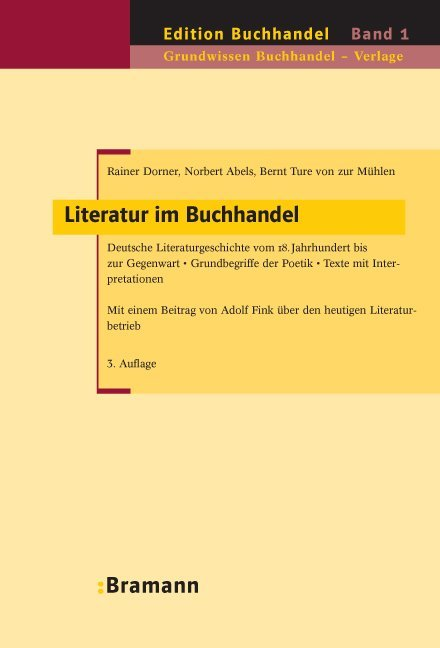 Literatur im Buchhandel als Buch (gebunden)