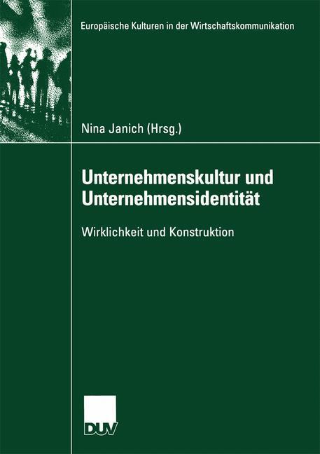 Unternehmenskultur und Unternehmensidentität als Buch (kartoniert)