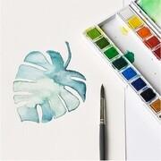 Aquarellfarben, 24 x 1/2 Näpfchen