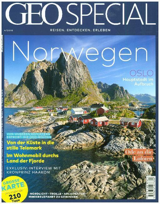GEO Special 04/2018 - Norwegen als Buch (kartoniert)