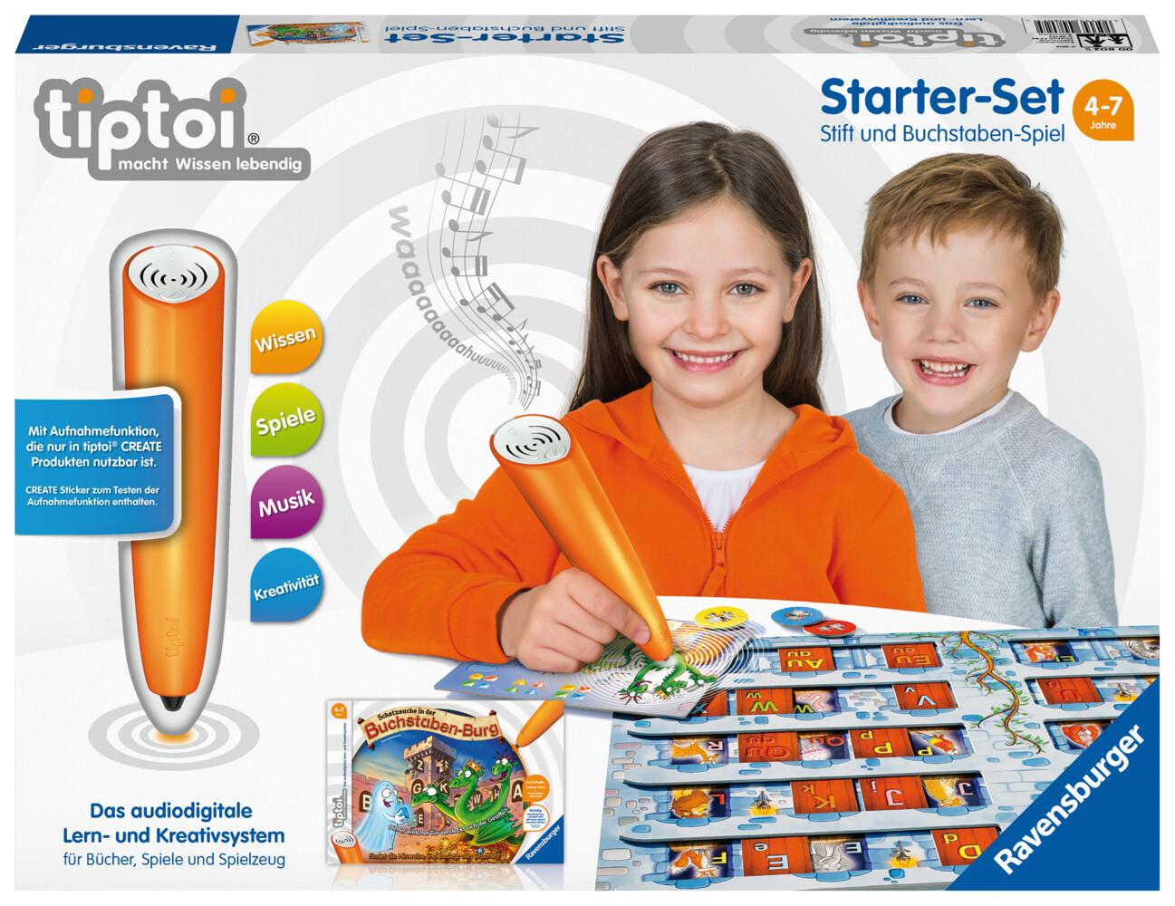 tiptoi® Starter-Set mit Stift und Buchstaben-Spiel