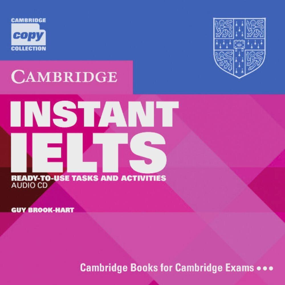 Instant IELTS, 1 Audio-CD als CD