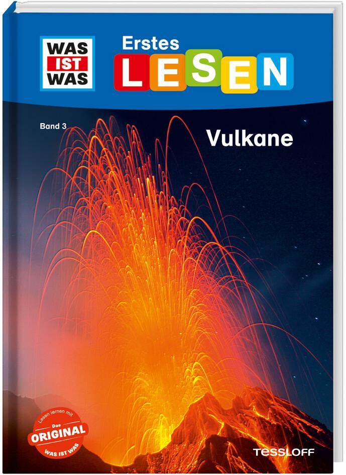 WAS IST WAS Erstes Lesen, Band 3: Vulkane als Buch (gebunden)