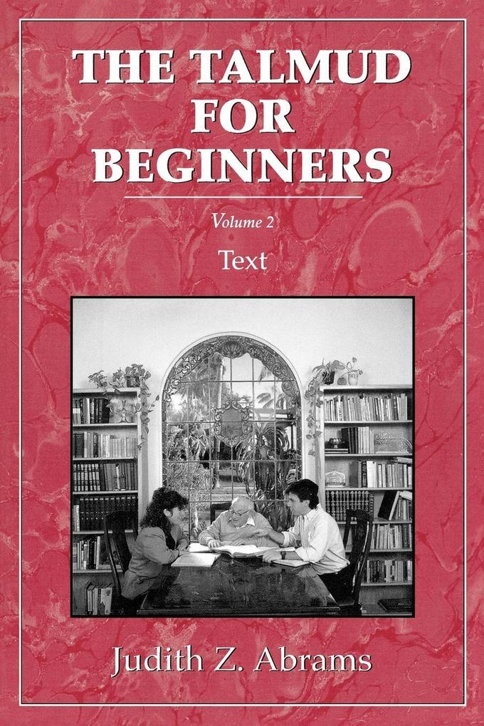 Talmud for Beginners als Taschenbuch