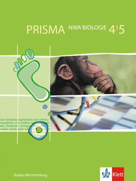 PRISMA. Biologie 4/5. Baden-Württemberg als Buch (gebunden)