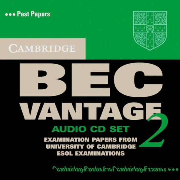 Cambridge BEC, Vantage 2, 1 Audio-CD als CD