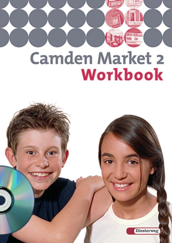 Camden Market 2. Workbook mit Multimedia-Sprachtrainer CD-ROM. 6. Schuljahr. Berlin, Brandenburg als Buch (geheftet)