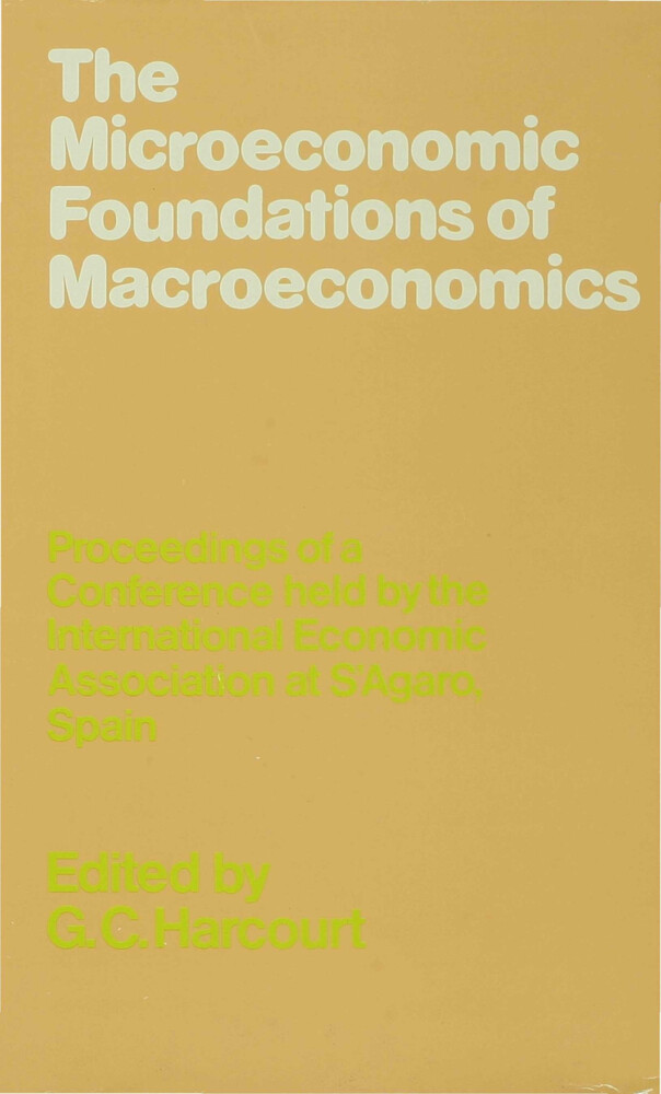 The Microeconomic Foundations of Macroeconomics als Buch (gebunden)