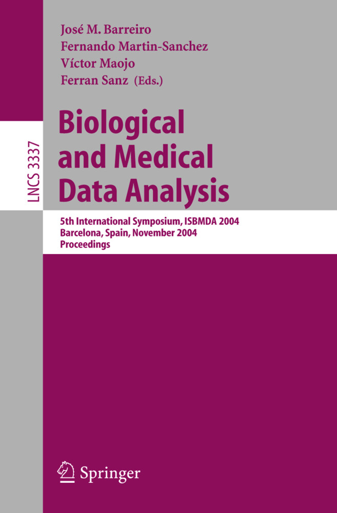 Biological and Medical Data Analysis als Buch (kartoniert)