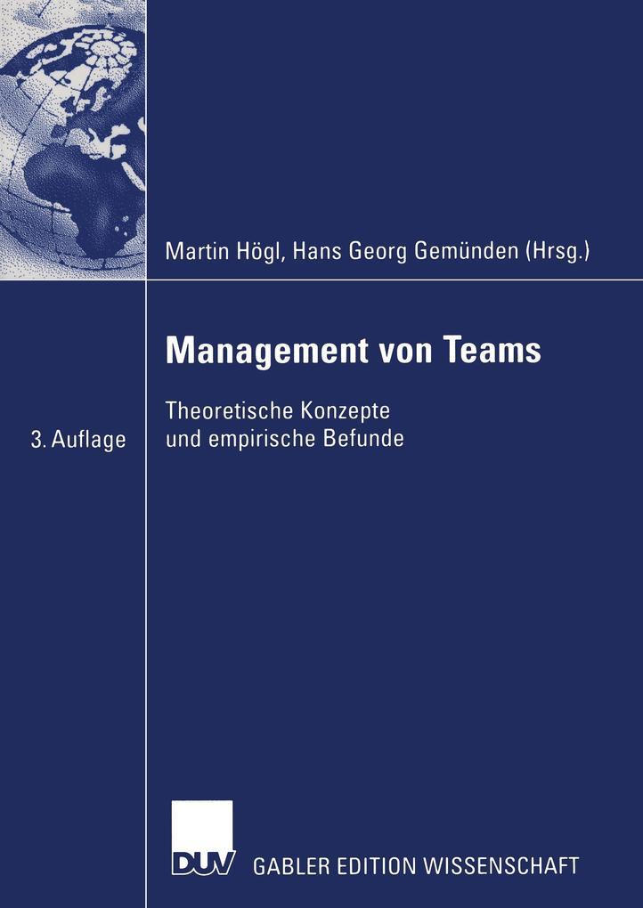Management von Teams als Buch (kartoniert)
