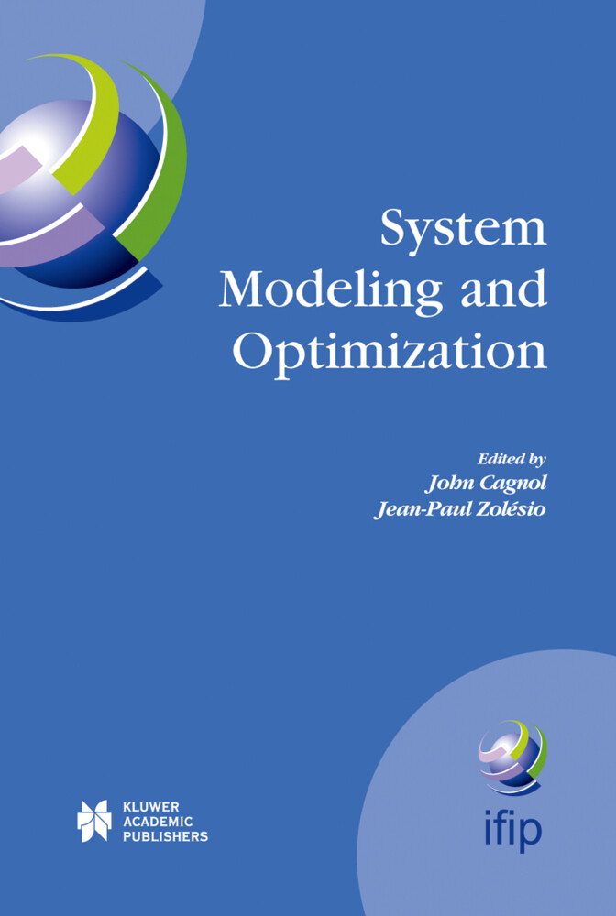 System Modeling and Optimization als Buch (gebunden)