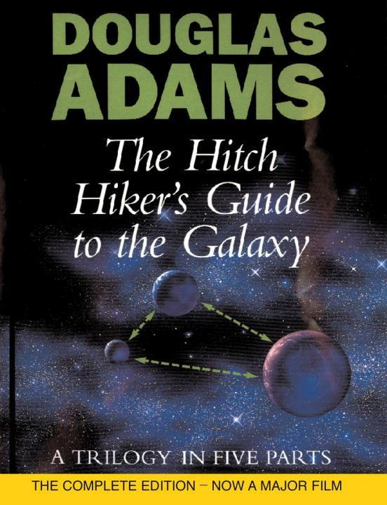 The Hitch Hiker's Guide to the Galaxy. A Trilogy in Five Parts als Buch (gebunden)