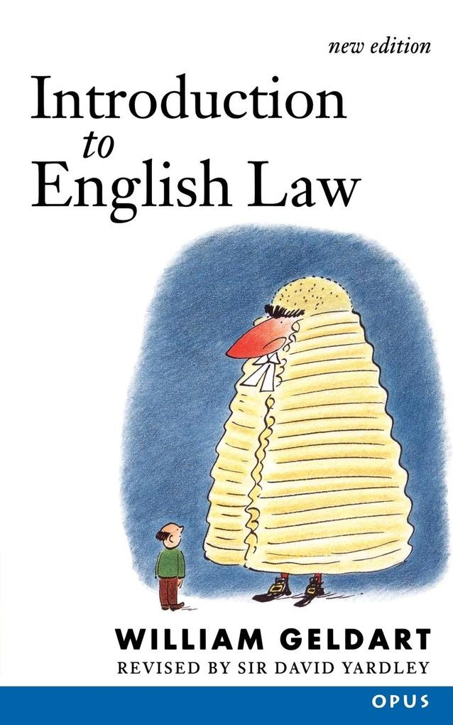 Introduction to English Law als Buch (kartoniert)