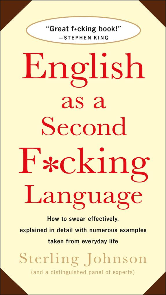 English as a Second F*cking Language als Taschenbuch
