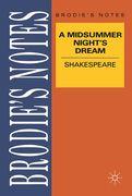 Shakespeare: A Midsummer Night's Dream
