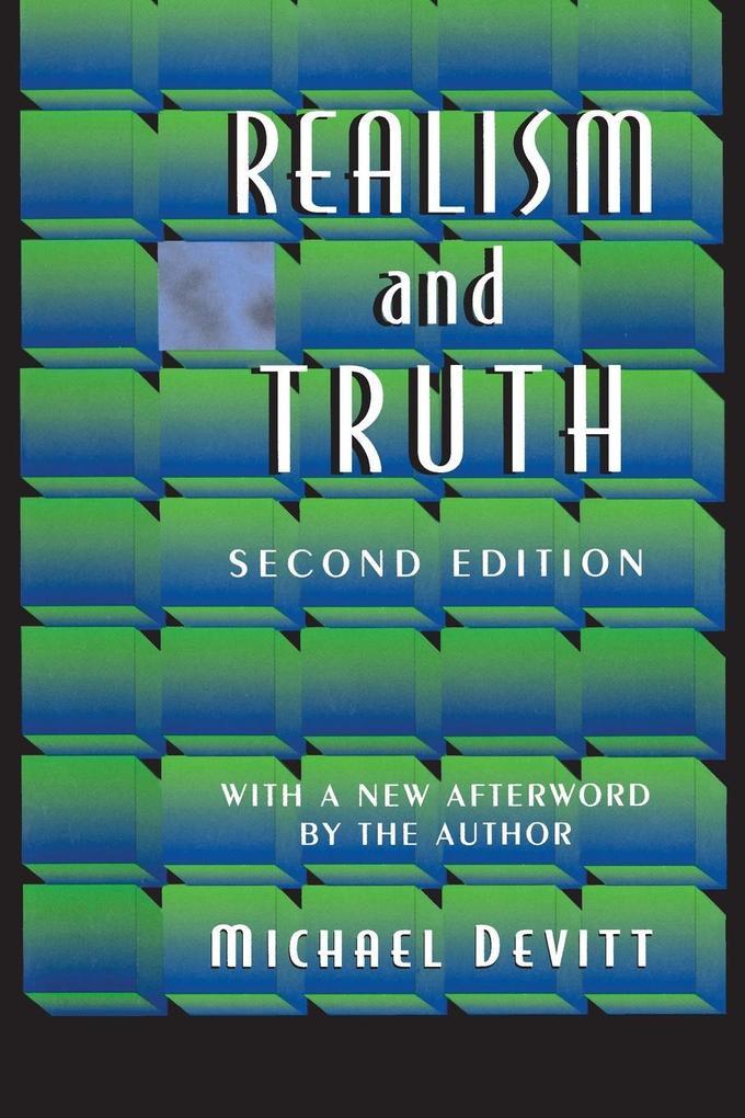 Realism and Truth als Buch (kartoniert)
