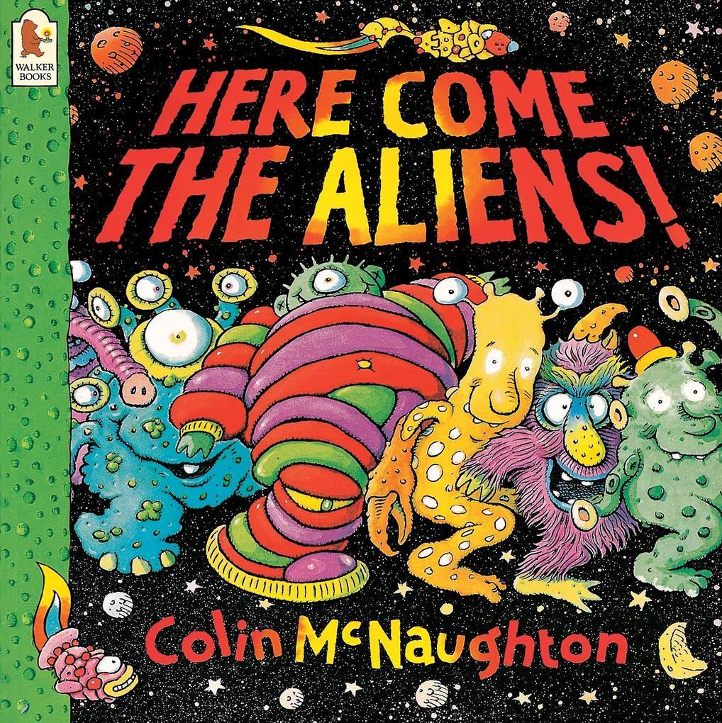 Here Come the Aliens! als Buch (kartoniert)