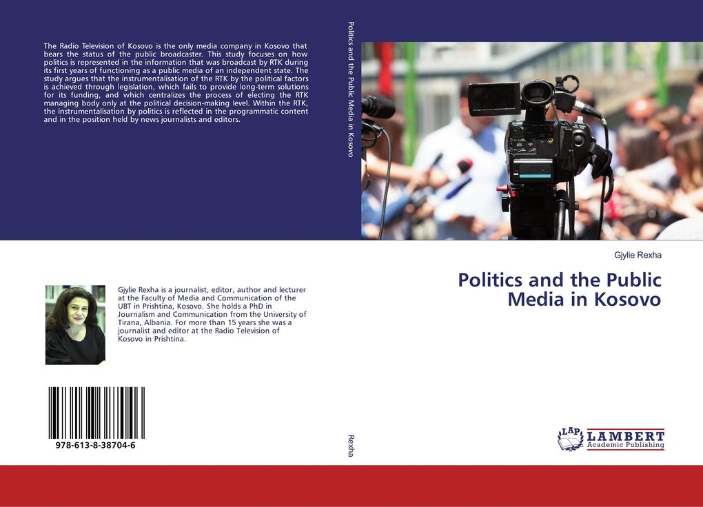 Politics and the Public Media in Kosovo als Buch (kartoniert)