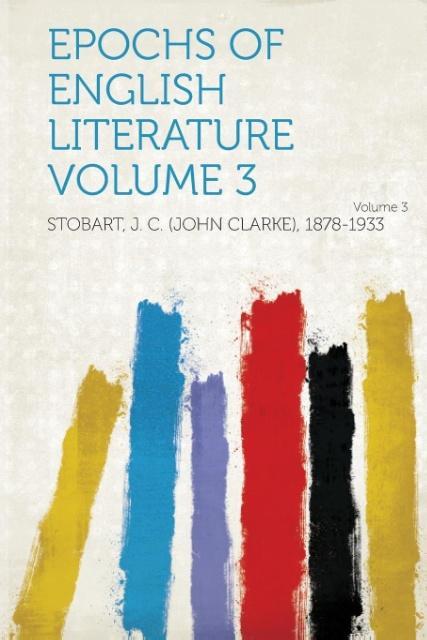 Epochs of English Literature als Taschenbuch