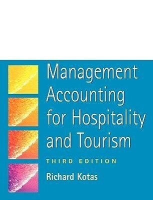 Management Accounting for Hospitality and Tourism als Buch (kartoniert)