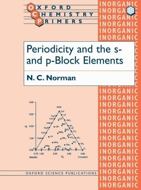 Periodicity and the s- and p-Block Elements als Buch (kartoniert)