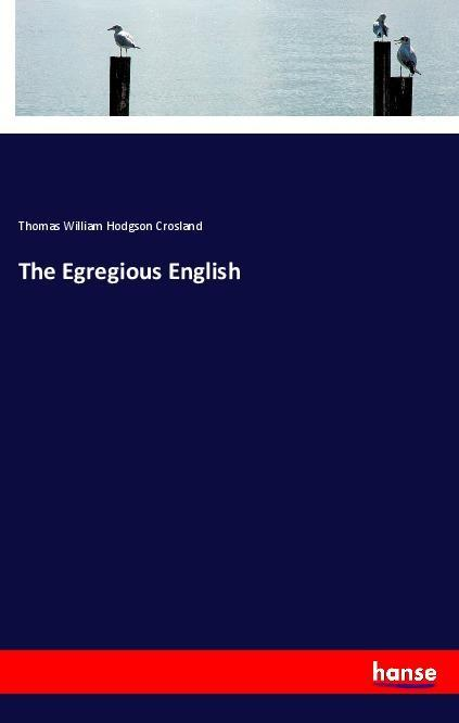The Egregious English als Buch (kartoniert)