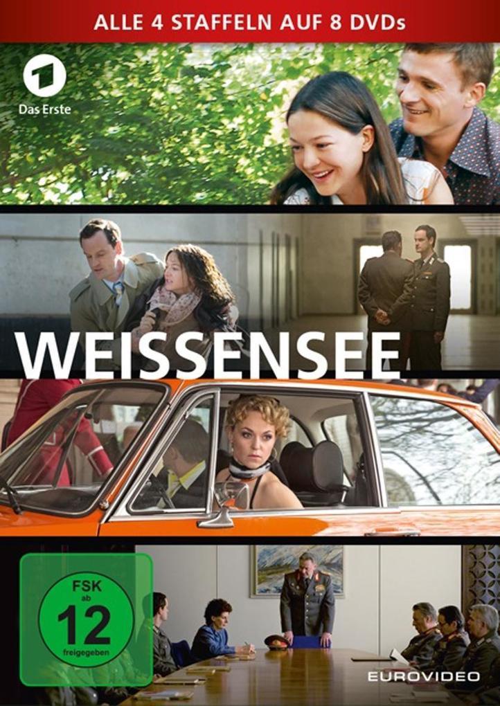 Weissensee - Staffel 1-4 als DVD