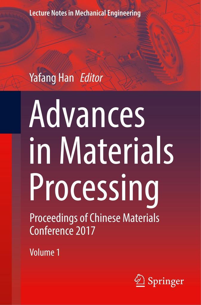 Advances in Materials Processing als Buch (kartoniert)