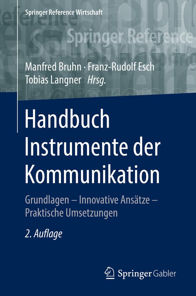 Handbuch Instrumente der Kommunikation als eBook pdf