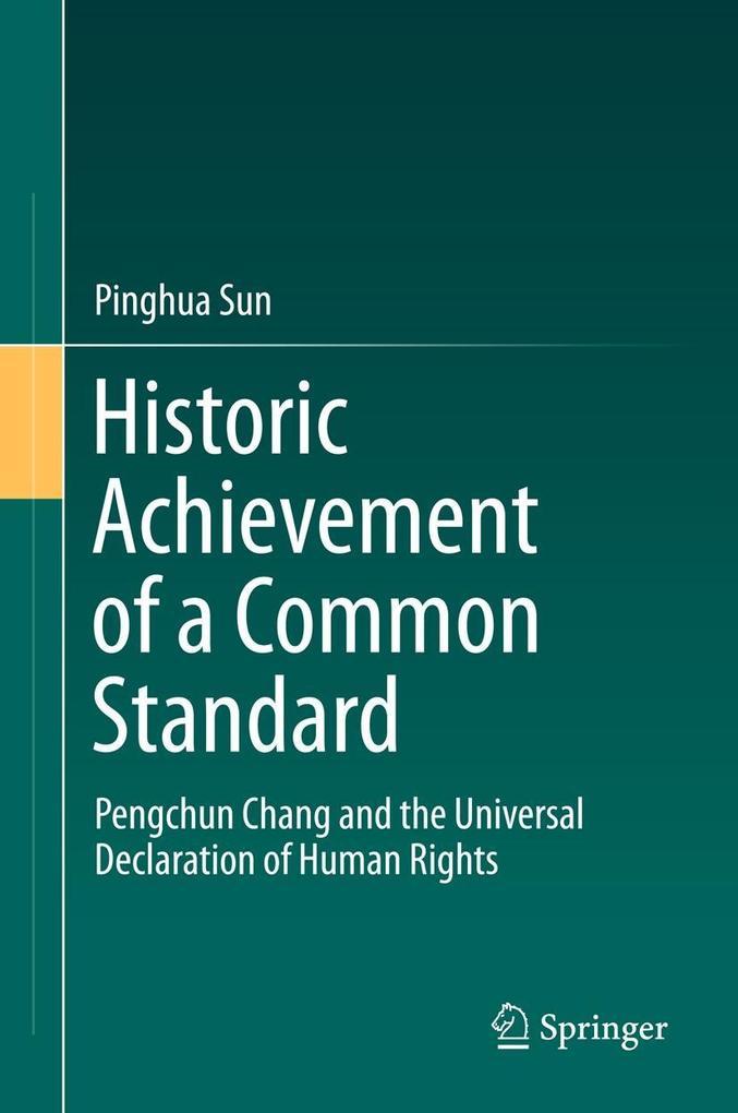 Historic Achievement of a Common Standard als eBook pdf