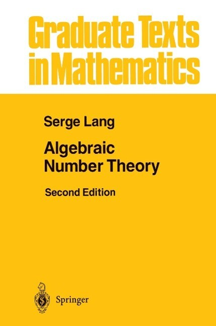 Algebraic Number Theory als Buch (gebunden)
