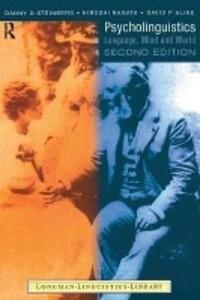 Psycholinguistics als Buch (kartoniert)