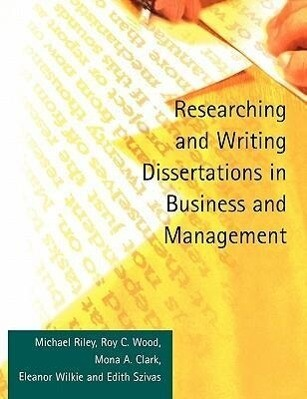 Researching and Writing Dissertations in Business and Management als Buch (kartoniert)