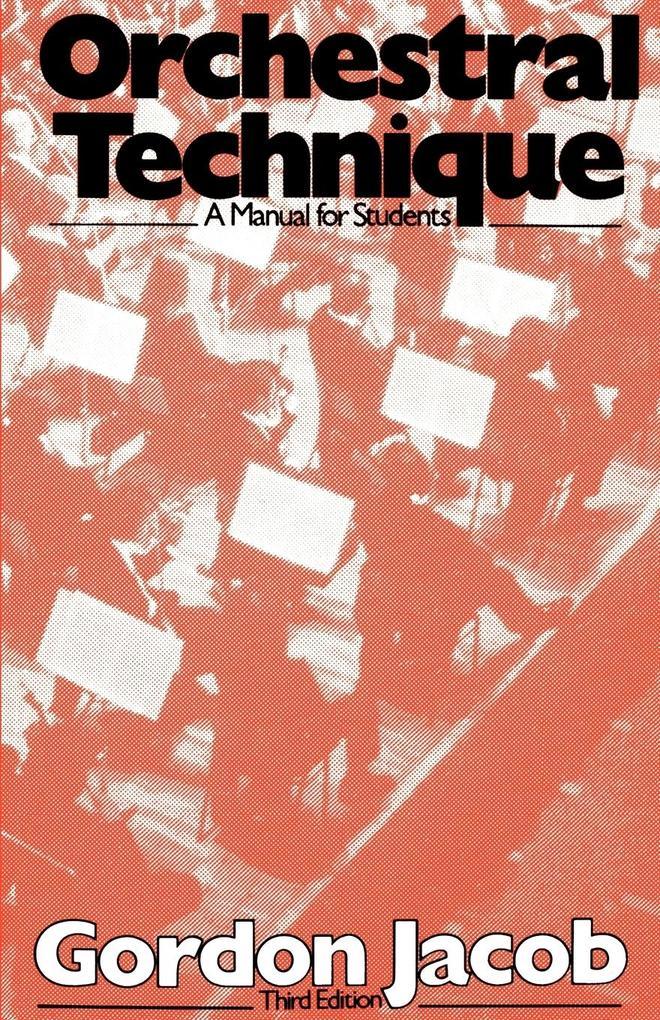 Orchestral Technique als Buch (kartoniert)