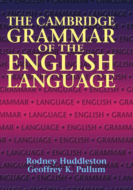The Cambridge Grammar of the English Language als Buch (gebunden)