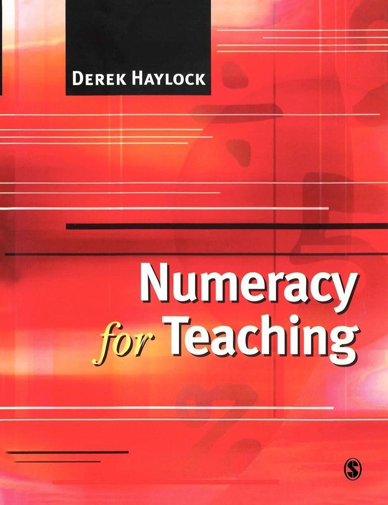 Numeracy for Teaching als Buch (kartoniert)