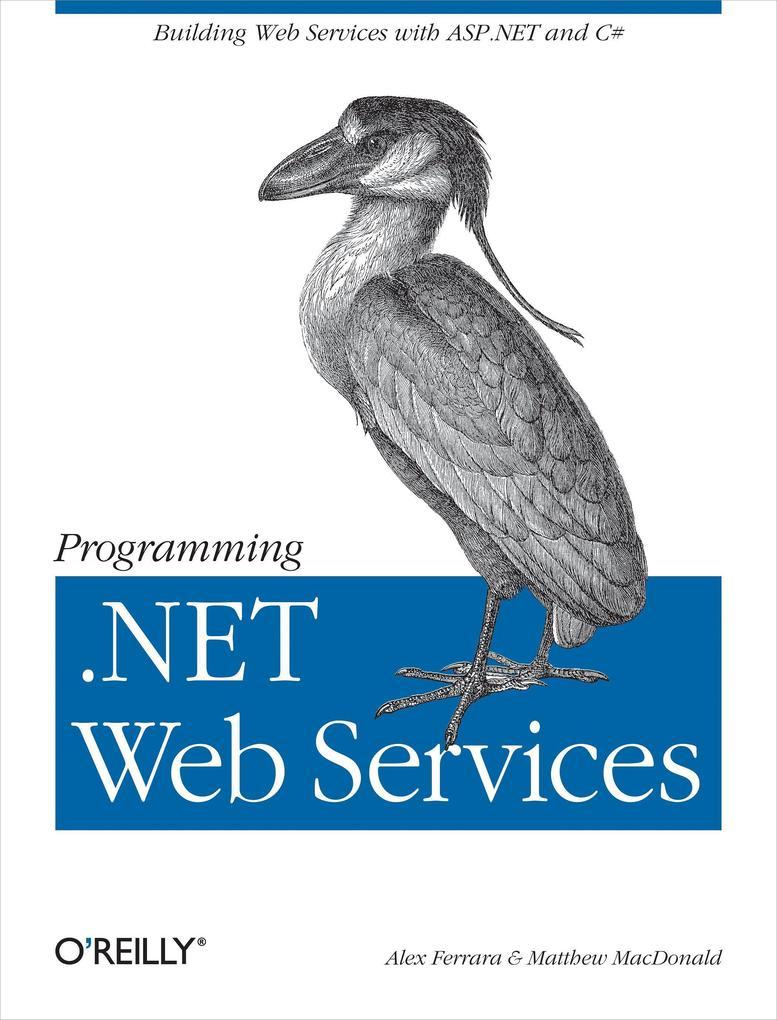 Programming .Net Web Services als Buch (kartoniert)