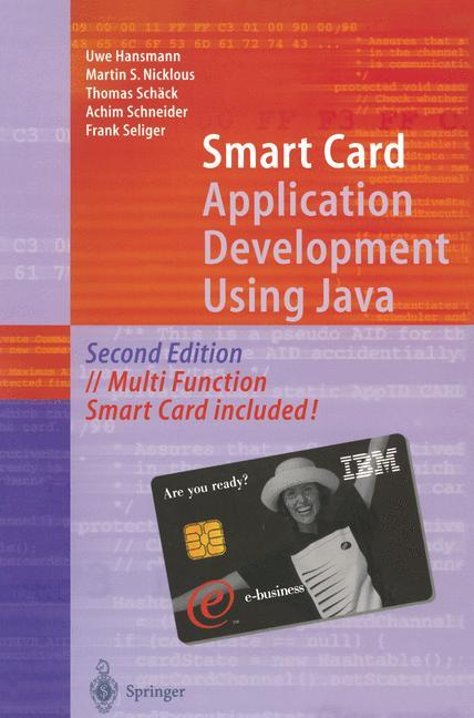 Smart Card Application Development Using Java als Buch (gebunden)
