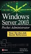 Windows Server 2003 Pocket Administrator