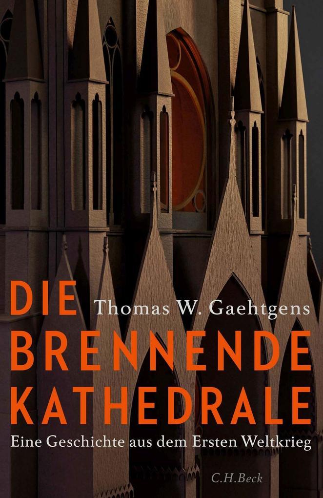 Die brennende Kathedrale als Buch (gebunden)