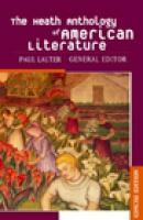 The Heath Anthology of American Literature als Buch (gebunden)