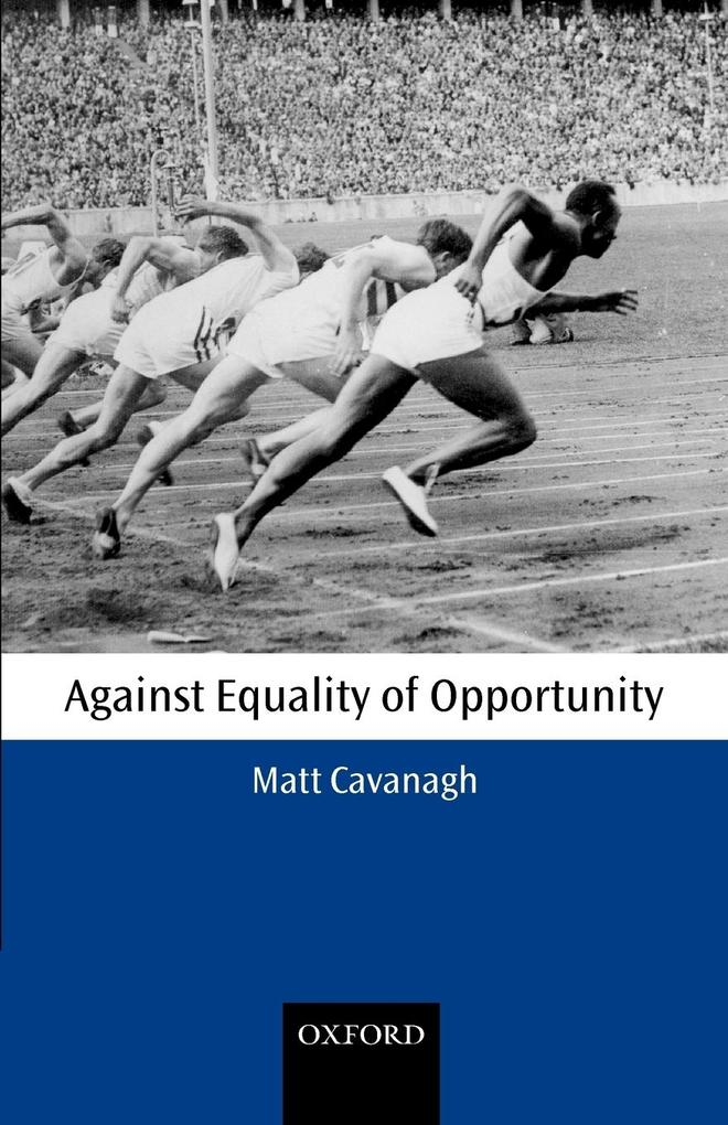Against Equality of Opportunity als Buch (kartoniert)