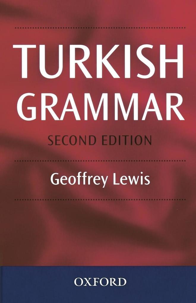 Turkish Grammar als Buch (gebunden)