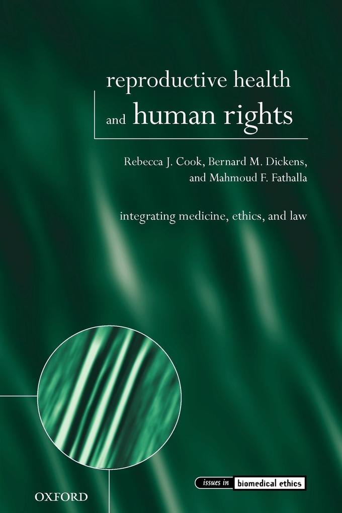 Reproductive Health and Human Rights als Buch (kartoniert)